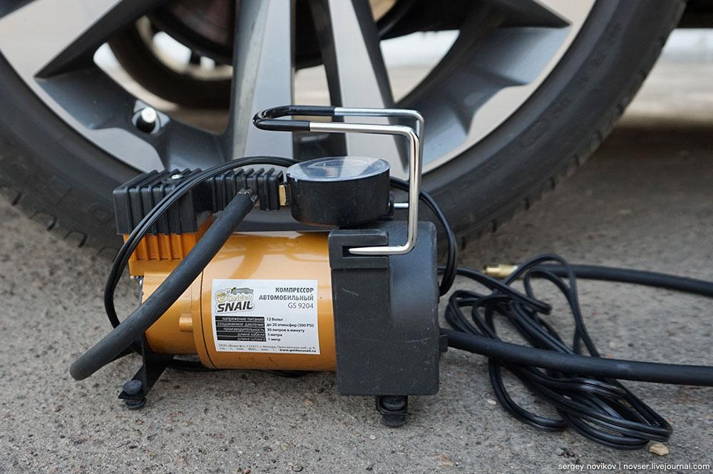 Автомобильный компрессор Golden Snail GS9204