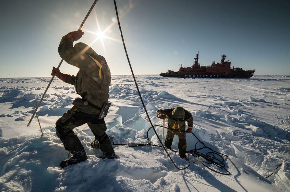 Развитие Арктики Россией