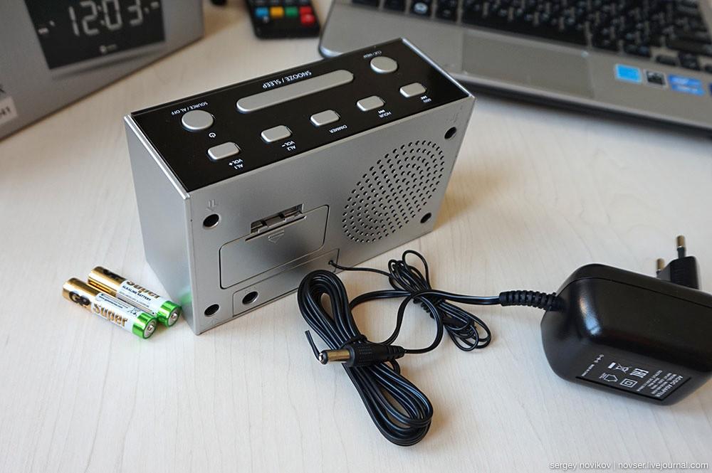 Радиочасы Harper HCLK-2041