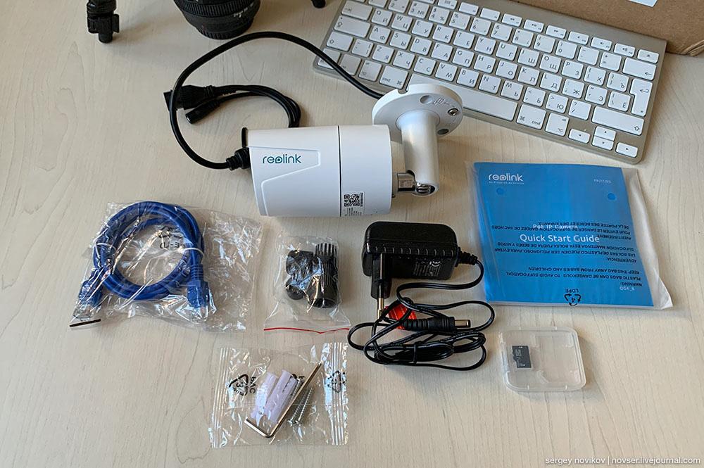Купить недорого камеру Reolink RLC-410-5MP