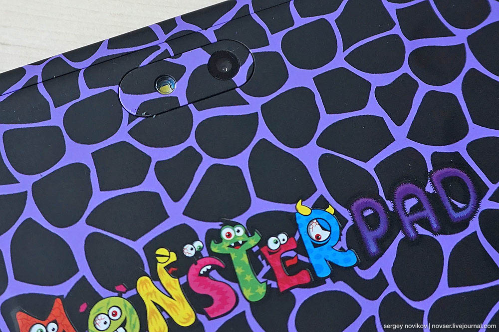 Детсикй планшет TurboKids MonsterPad 2