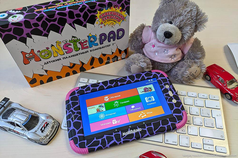 Детский планшет TurboKids MonsterPad 2