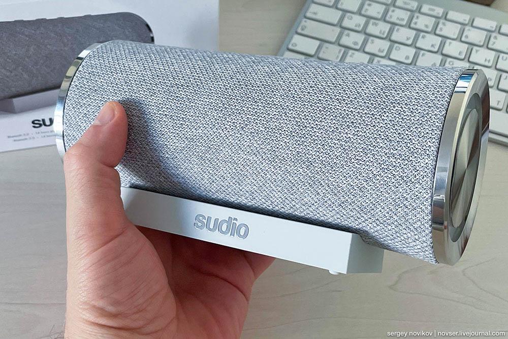 Беспроводная колонка Sudio Femtio – отличный звук и премиальный дизайн