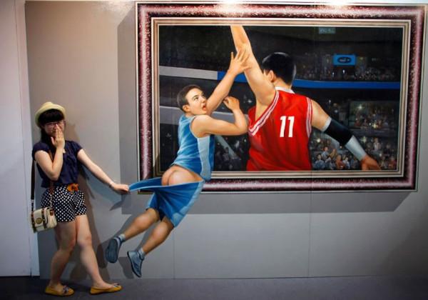 Выставка интерактивных 3d-картин