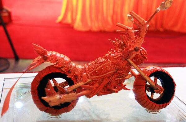 Мотоциклы из лобстеров