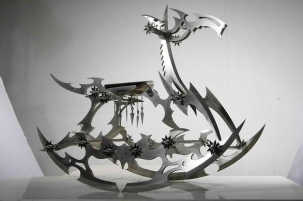 Стальные скульптуры Shi Jinsong