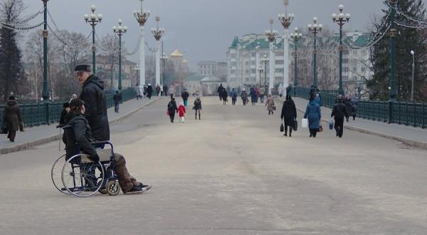 Александровский мост. Город Орел