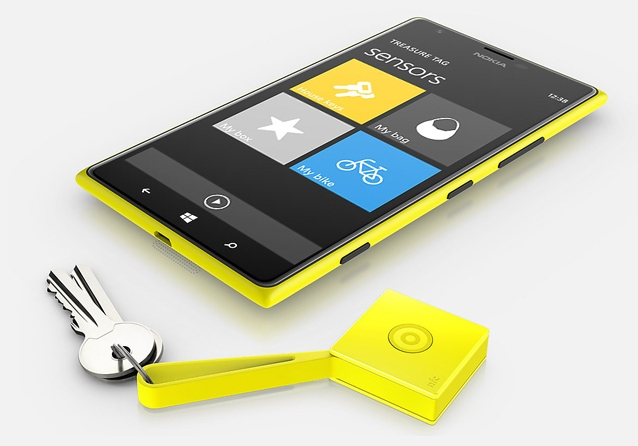 Nokia Treasure Tag App