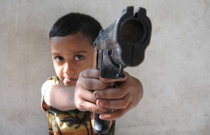 Ген жестокости у детей