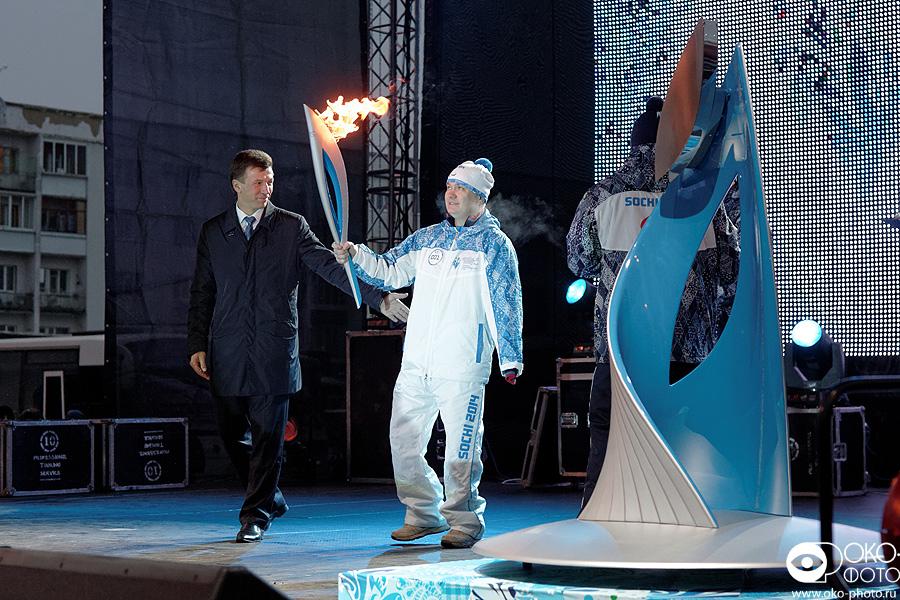 2. Эстафета Паралимпийского огня в Орле