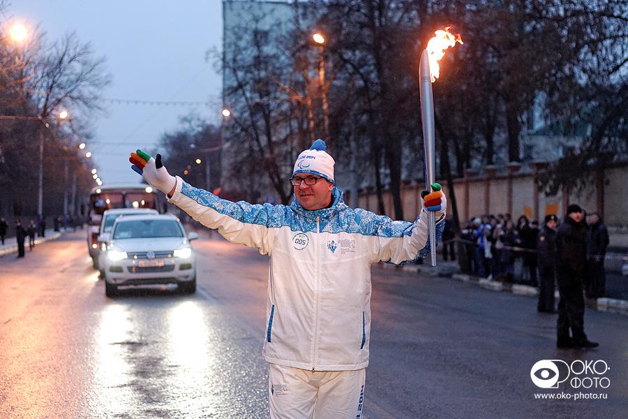 14. Эстафета Паралимпийского огня в Орле