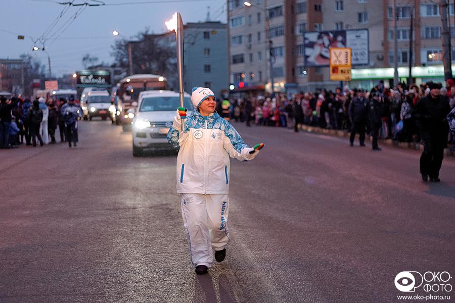 21. Эстафета Паралимпийского огня в Орле