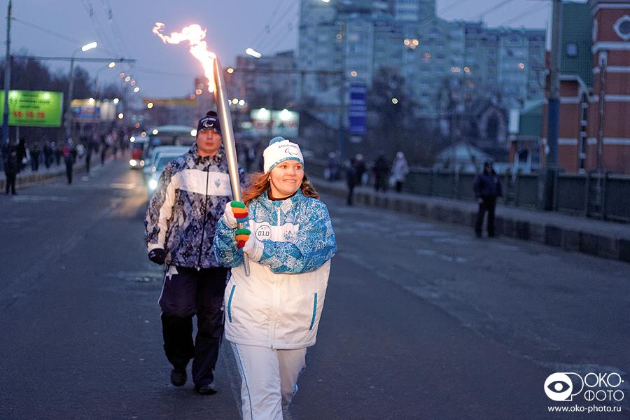 3. Эстафета Паралимпийского огня в Орле