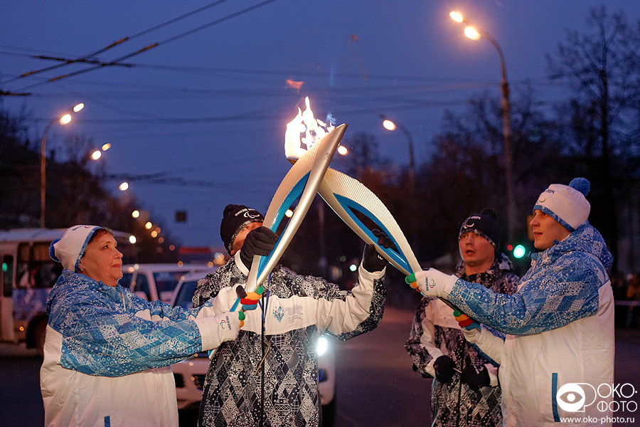 10. Эстафета Паралимпийского огня в Орле