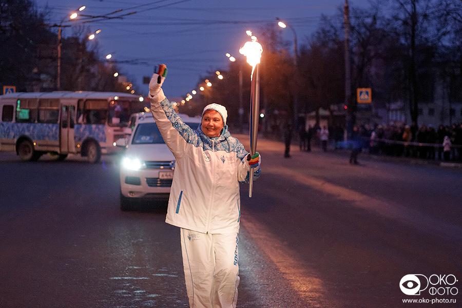 11. Эстафета Паралимпийского огня в Орле