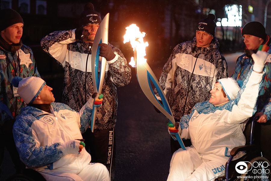 13. Эстафеты Паралимпийского огня в Орле