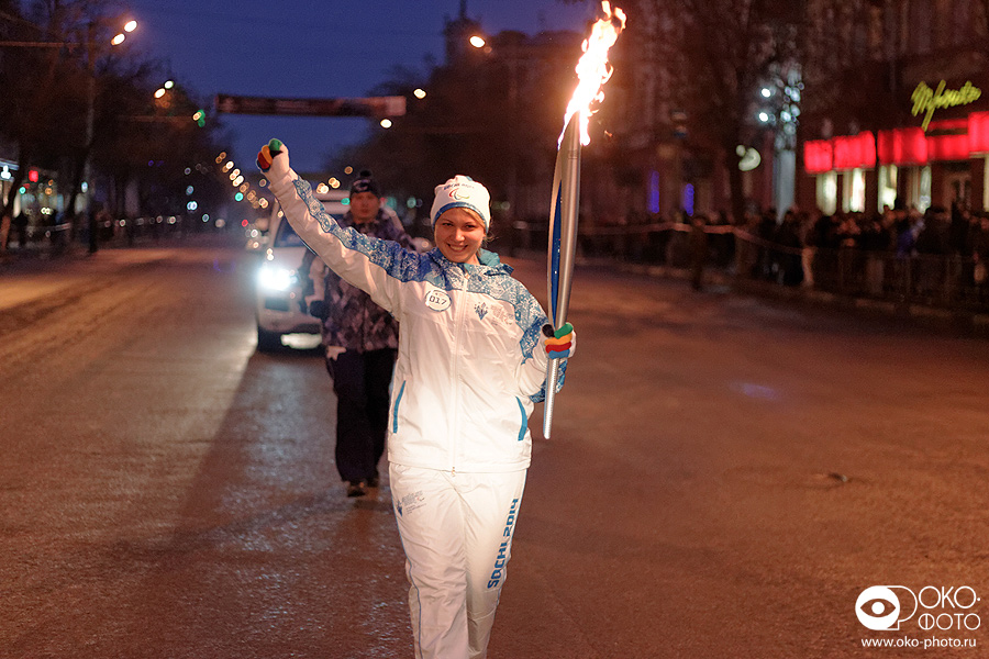 18. Эстафеты Паралимпийского огня в Орле