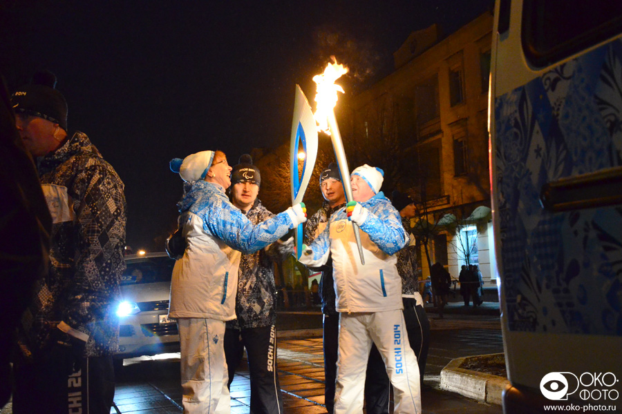 28. Эстафеты Паралимпийского огня в Орле