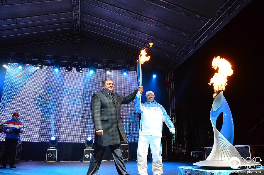 30. Эстафета Паралимпийского огня в Орле