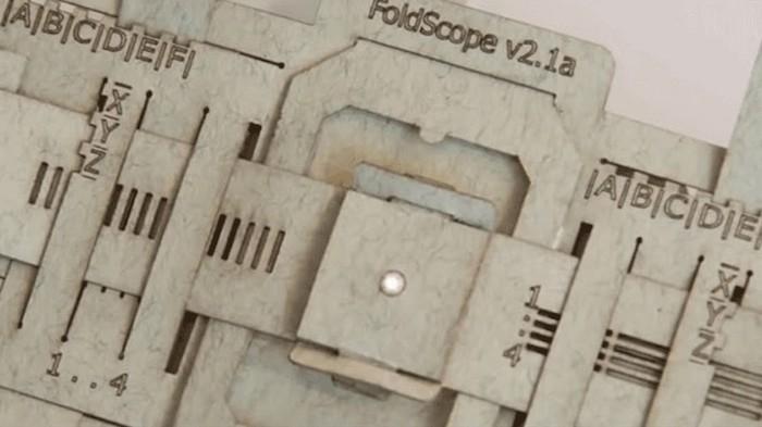 Микроскоп FoldScope