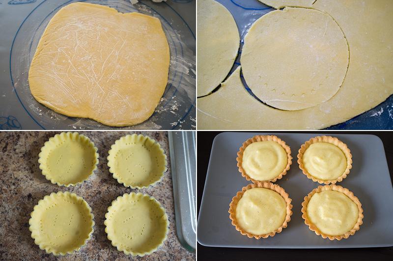 Тарталетки с заварным кремом рецепт с фото