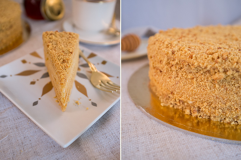Рецепты медового торта без раскатки коржей и без нагревания на паровой бане.