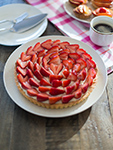 tart fraise mascarpone