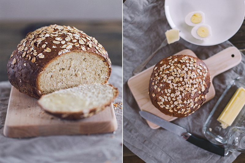 honey oatmeal bread 3