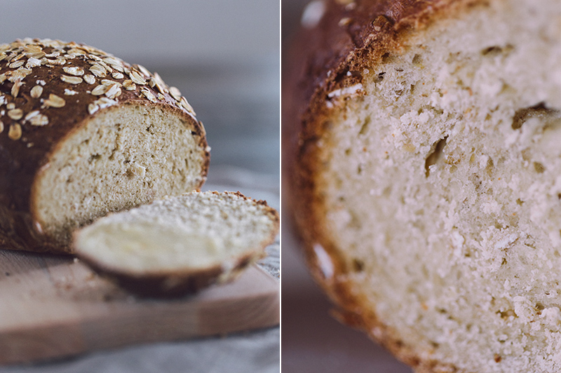 honey oatmeal bread 5