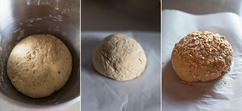 honey oatmeal bread 2