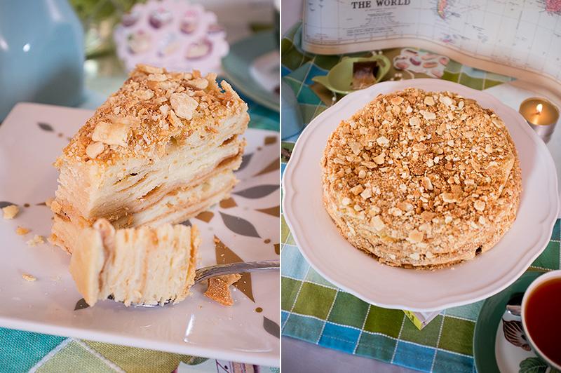 Торт наполеон рецепт с фото едим