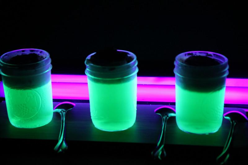 Как сделать светящуюся жидкость и