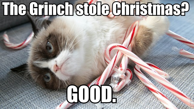 A Grumpy Cat Christmas