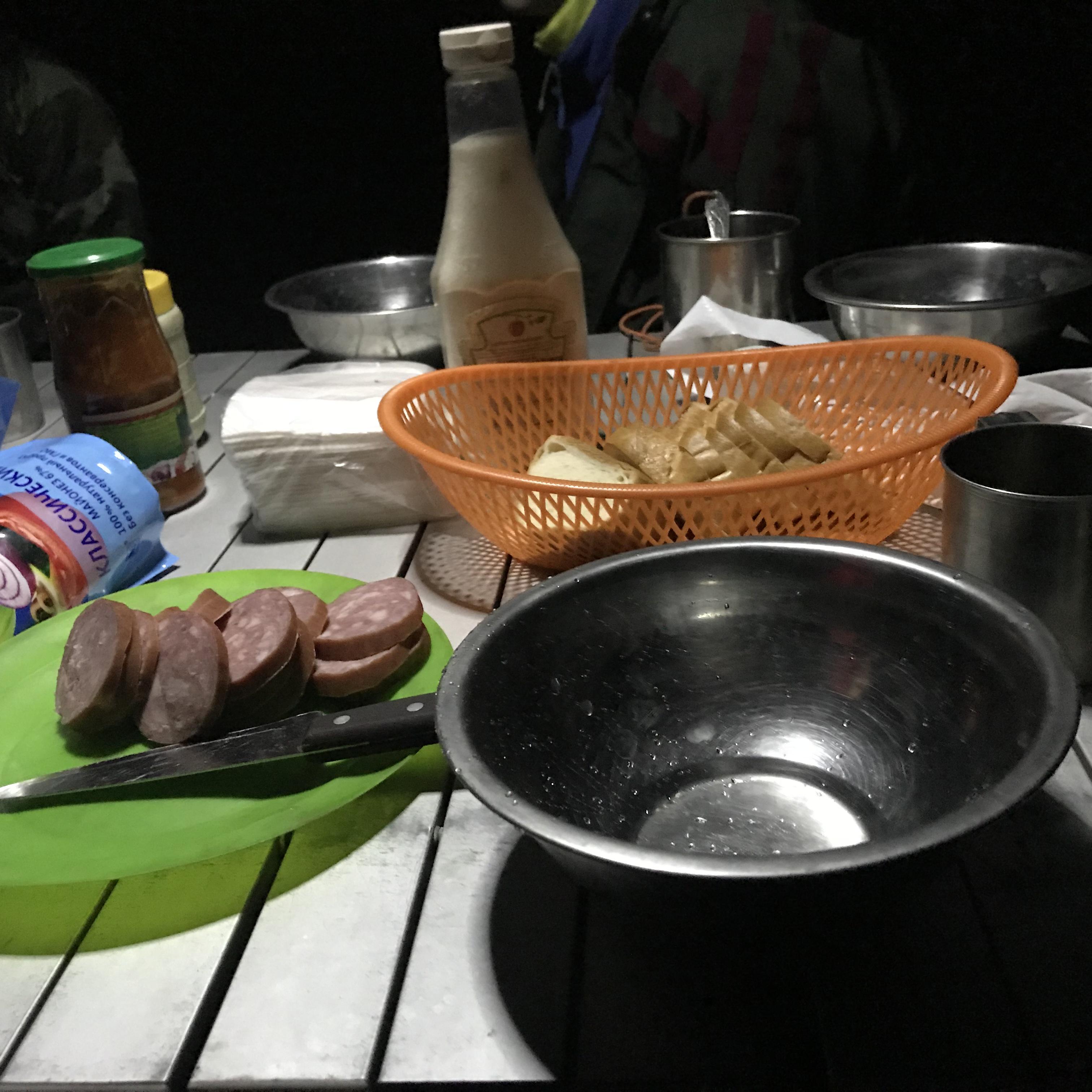 Ужин в лесу. 01/06/18