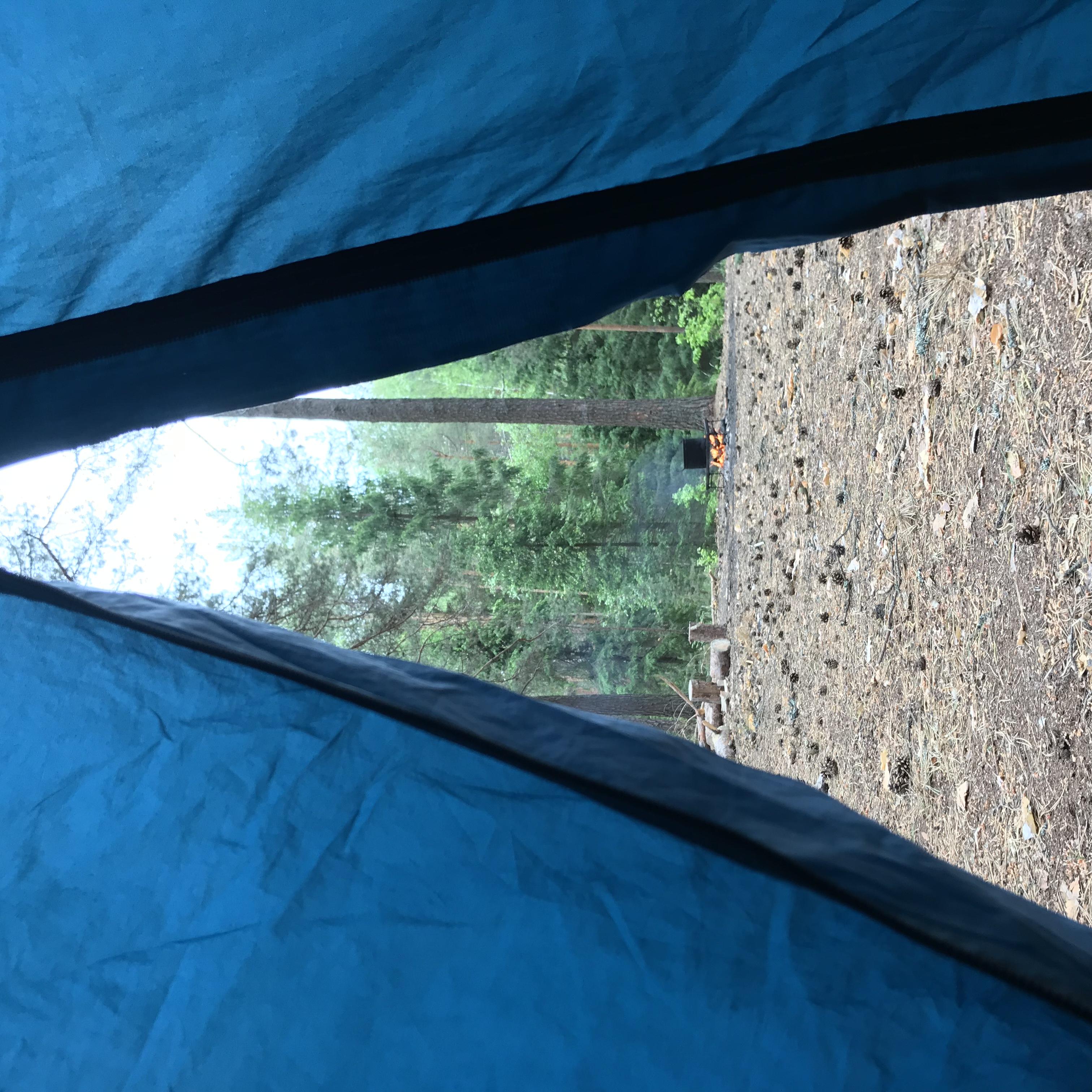 День2. Мир из палатки
