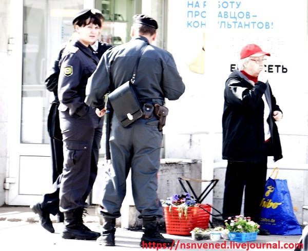 В Уфе ветеранов разгоняет полиция!