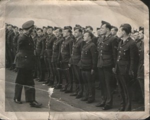 Polish airmen, my Grandpa first from right.