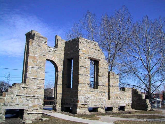 Rundle Ruins