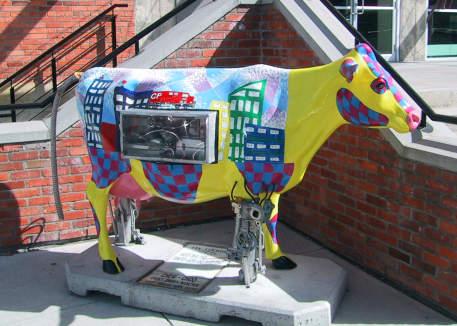 I never saw a purple cow...
