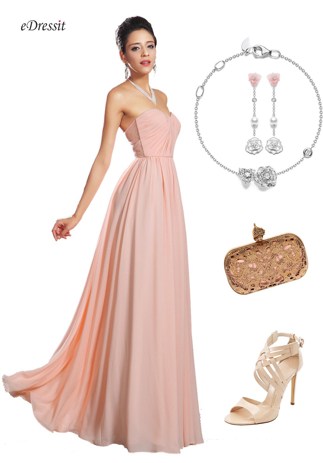 Look robe rose mariage