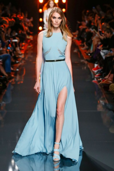 robe de soirée fashion week