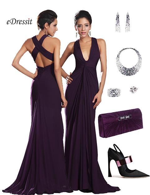 Look du jour d collet plongeant fan de robes - Avec quelle actrice pourriez vous sortir ...