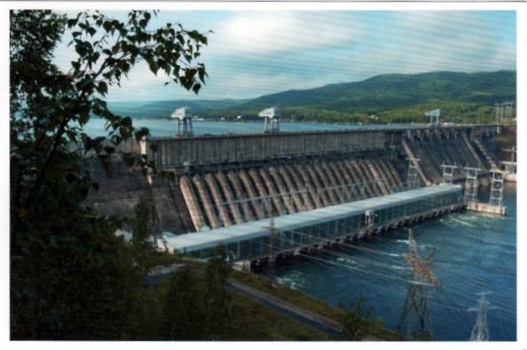 Красноярская ГЭС 2014 от Кот
