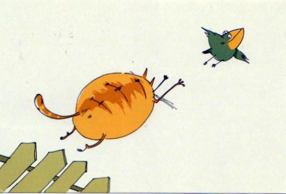 Летающие коты мультик