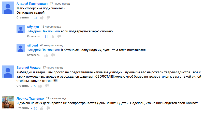 ук комментариями:
