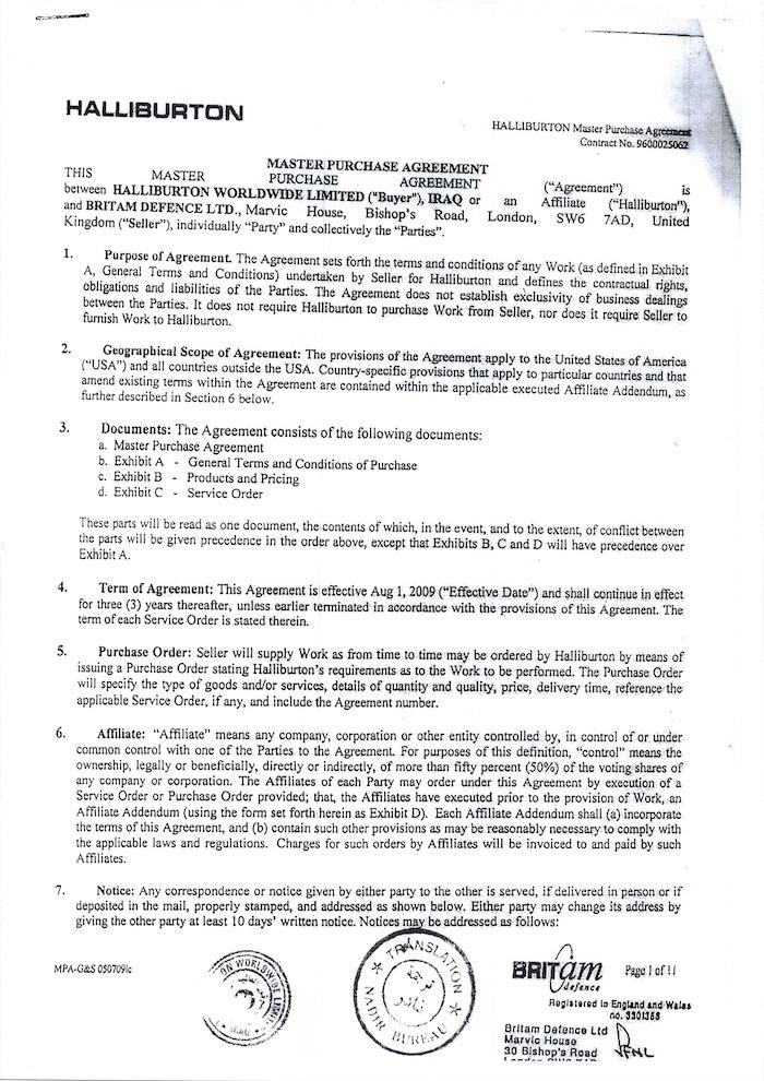 Hallburton Contract with Transla0011