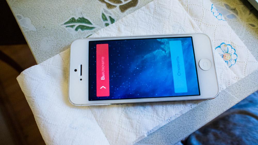 Спасаем свежеутопленный iPhone 5 DSC05655