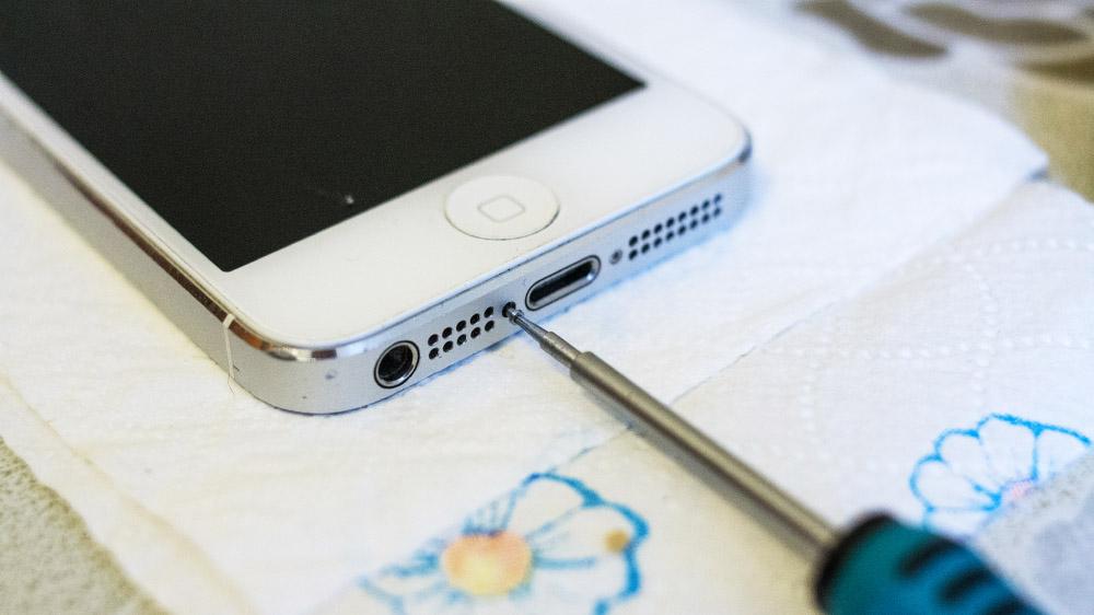 Спасаем свежеутопленный iPhone 5 DSC05657