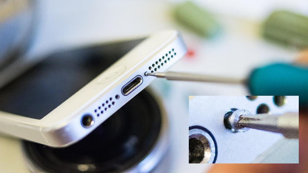 Спасаем свежеутопленный iPhone 5 DSC05664