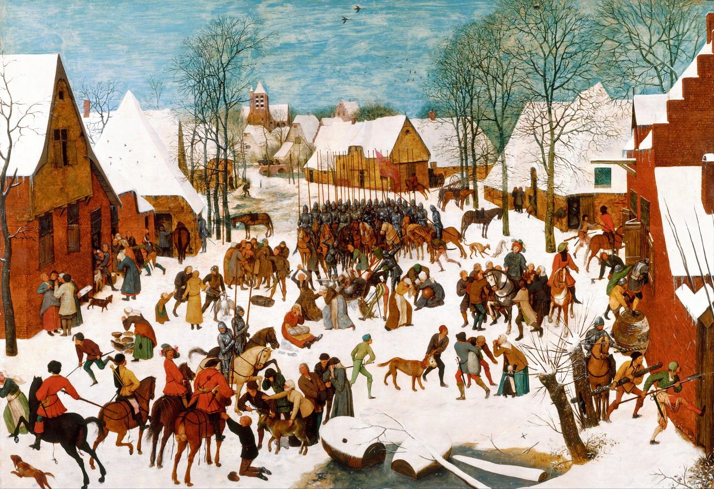 01_Питер Брейгель-старший. Избиение младенцев. около 1565-1567 гг.